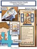 4 Seasons Activities: 4 Seasons Writing Prompt Window Craft