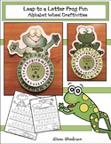 "Alphabet Craft:  ""Leap to a Letter"" Alphabet Activities Gr"