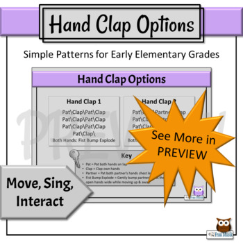 Back to School Music Mixer   Song & Movement Activities, Primary Grades