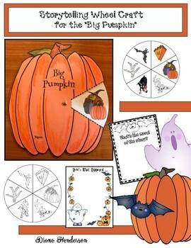 "Pumpkin/Halloween Activities: ""Big Pumpkin"" Sequencing & Retelling a Story Wheel"
