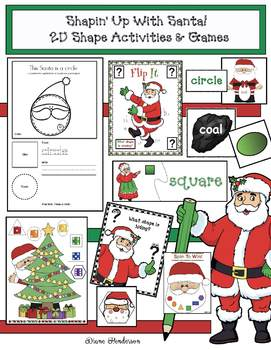 Christmas Activities & Games With 2D Shapes (Fun for Party Day!)