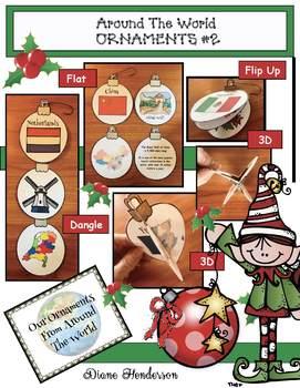 Christmas Around the World ORNAMENT Crafts #2