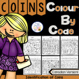 Colour By Code Identification of Canadian Coins