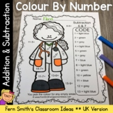 Colour By Numbers Careers: Addition and Subtraction Bundle