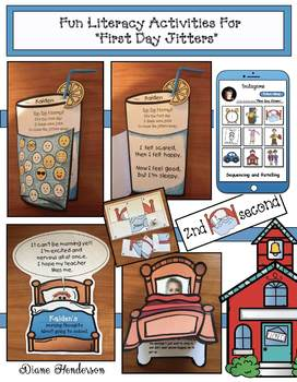 "Fun Literacy Activities & Quick Crafts For ""First Day Jitters"""