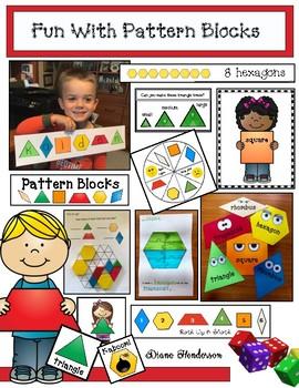 "40% Off  ""Fun With Pattern Blocks"""