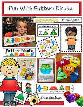 "Pattern Block Activities: ""Fun With Pattern Blocks"""