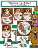 """Goldilocks & the 3 Bears"" Story Wheel Craft (Sequencing & Retelling)"