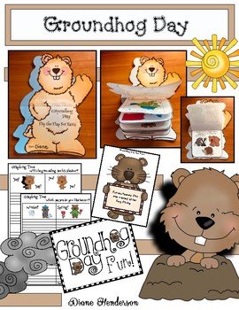 Groundhog Day Activities, Card & Booklets