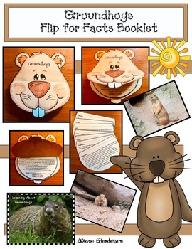 Groundhog Activities: Non-Fiction Booklet, Activities & Photo-Posters