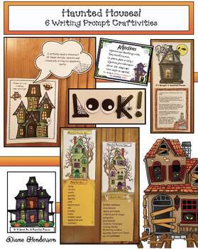 Halloween Activities: 6 Haunted House Writing Prompt Crafts Great for Party Day!