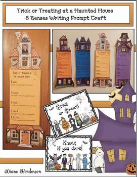 Halloween Activities: Haunted House Writing Craft. Great Bulletin Board Too!