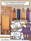 Halloween Activities: Haunted House Writing Craft. Great B