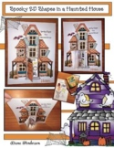 2D Shape Activities: Haunted House Craft & Game. Great for a Halloween Party