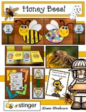 Bee Activities: Honey Bees! Comprehensive Non-Fiction Science Packet On Bees