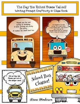 """If Buses Could Talk"" Writing Prompt Craft & Class Book"