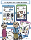Grandparents Day Craft: Instagrama & Instagrampa Grams