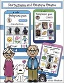 Grandparents Day Craft: Instagrama & Instagrampa Grams