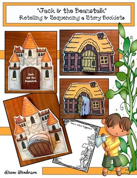 "Fairy Tale Activities: ""Jack and the Beanstalk"" Sequence & Retell Booklets"