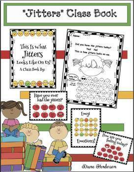First Day Jitters: Back to School Icebreaker: Class-Made Book