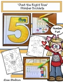 """Counting Activities: """"Just the Right Size"""" Number Booklets"""
