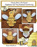 "Life Cycle Of A Honey Bee: ""Bottoms Up!""  a Flip the Flap Booklet Craft"