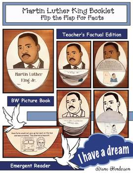 """Martin Luther King """"Flip the Flap For Facts"""" Booklet"""