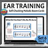 Music Ear Training Boom Cards   What Do You Hear Set 6 - D