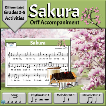 Music Reading Song with Orff Arrangement | Sakura