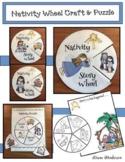 Nativity Craft: Nativity Storytelling Wheel, Puzzle & Writing Prompt