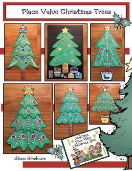 Place Value Activities: Christmas Tree Craft Makes a Great Bulletin Board!