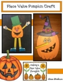 Place Value Activities Pumpkin Craft. Fun For Halloween Party Day