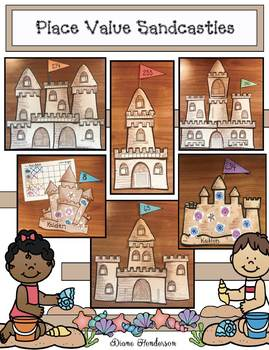 Place Value Activities: Place Value Sandcastle Craft