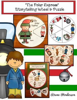 """Polar Express"" Storytelling Wheels & Puzzle"