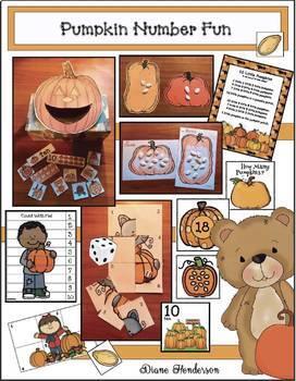 Pumpkin Activities: Number Fun With a Pumpkin Theme