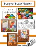 Pumpkin / Halloween Party Activities: Pumpkin Puzzle Games