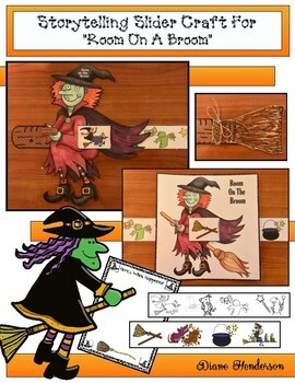 """Room on the Broom"" Sequencing & Retelling a Story Craft"