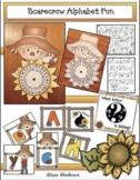 Scarecrow Activities: Alphabet Fun With a Scarecrow! Games