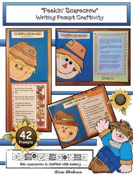 Scarecrow Activities: Scarecrow Writing Prompt Craft