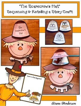 """""""The Scarecrow's Hat"""" Sequencing & Retelling a Story Craft"""