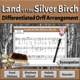 Land of the Silver Birch | Folk Song with Orff Arrangement
