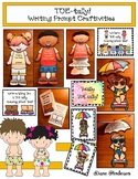 """""""TOE-tally!"""" Versatile Writing Prompt Craft for the End or Beginning of School"""