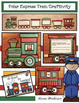 """The Polar Express"" Literature Train Craft"