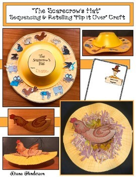 """The Scarecrow's Hat"" Sequencing & Retelling a Story ""Flip It"" Craft"