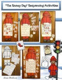 The Snowy Day Activities Sequencing & Retelling Craft
