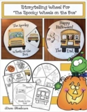 """Halloween Activities: """"The Spooky Wheels on the Bus"""" Storytelling Craft Wheel"""