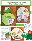 """Aesop's Fables Craft: """"The Tortoise & the Hare"""" Storytelling Wheels"""
