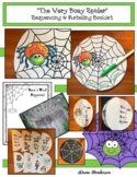 Spider Activities: The Very Busy Spider Sequencing & Retel