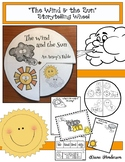 """Wind Activities: """"The Wind & the Sun"""" An Aesop's Fable Storytelling Craft Wheel"""