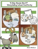 """Three Billy Goats Gruff"" Sequencing & Storytelling Wheel"